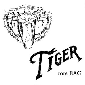 """TIGER"" tote BAG"
