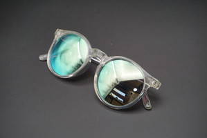 ATZ Crystal Clear x Silver Blue Mirror Poralized・vidg00417