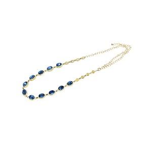Jewelry belt blue
