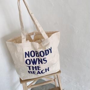 NOBODY tote bag《S-39》