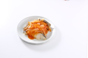 白身魚と国産野菜の辛くないチリソースキット<冷凍>