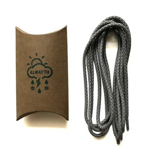 "Alwayth ""3M Shoe Lace #1"" GY [Alwayth Report Exclusive] [送料無料]"