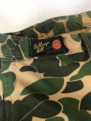 Bullseye Bill Vintage ダックハンターカモ パンツ