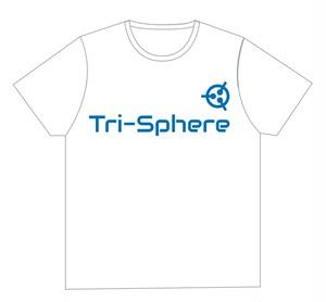 Tri-Sphere LOGO Tshirt (特典付) -郵送受け取り-