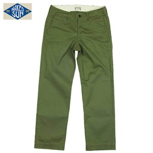 NS002007 VINTAGE STRETCH TROUSERS / OLIVE