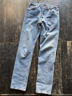 made in usa 90's vintage levis501