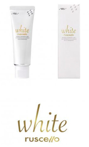 ホワイトニング歯磨き粉(フッ素配合)