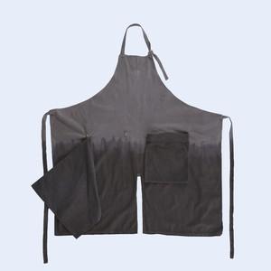 Packable Apron / LOGWOOD+ALNUS FIRMA (corduroy)