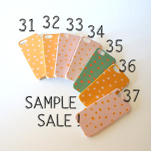 iPhone5/5s/SE ハード型スマホケース fuwa fuwa dot【SAMPLE SALE !】