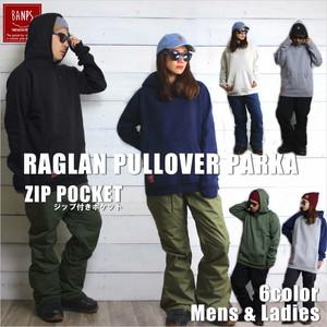 RAGLAN PULLOVER PARKA Plain bp-101