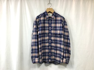 "O-""OVER FLAP SHIRT BLUE×ORANGE"""