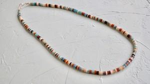 キワ族 カラフルヒシネックレス