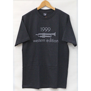 【WESTERN EDITION】WE 1999 S/S TEE BLACK
