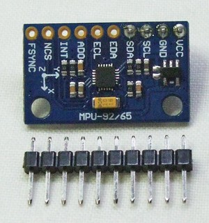 加速度/ジャイロ/磁気センサ RDI-9250