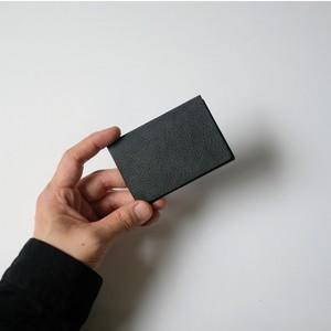 ori cardholder - 名刺入れ - bk - nebbia