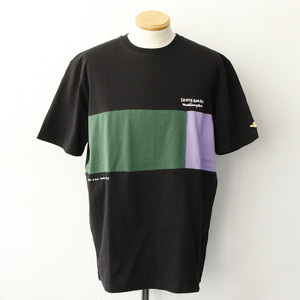 FRONT PANEL SS TEE (BLACK)