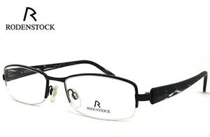 ローデンストック 眼鏡 (メガネ) RODENSTOCK R4704 C ナイロール ハーフリム コンビネーション フレーム