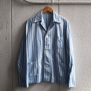 Grunge! French Vintage Striped Pajama ビンテージ ストライプ パジャマシャツ NIRVANA グランジ