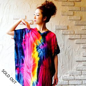 Cuftan/Tie-Dye Rainbow
