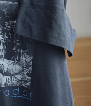 VINTAGE 80s BAND T-shirt -CARLOS SANTANA-