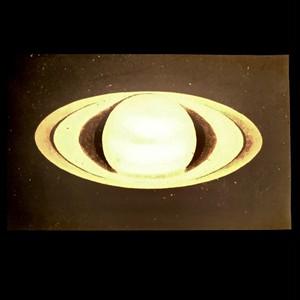 幻灯機スライド 土星