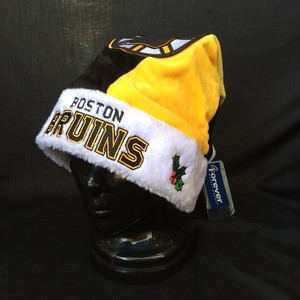 NHL ボストン ブルーインズ BOSTON BRUINS SANTA HAT XMAS サンタハット ニットキャップ 1275