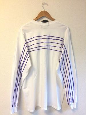 五線譜ロンT紫