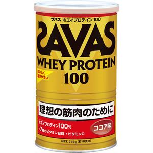 ザバス ホエイプロテイン100(ココア味378g)