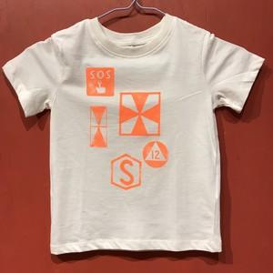 【タコベル】鉄道記号Tシャツ(ホワイト・105)