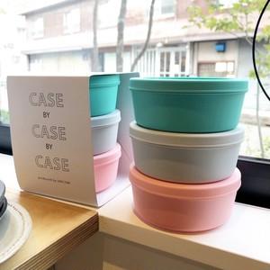 CASE BY CASE BY CASE 保存容器 お弁当箱 小物入れ タッパー (M)Polaris