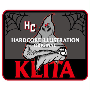 KEITA HARDCORE ILLUSTRATION  STICKER