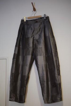 Men's /  tucked wide PANTS