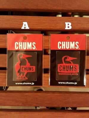 CHUMS チャムス カッティング ロゴステッカー