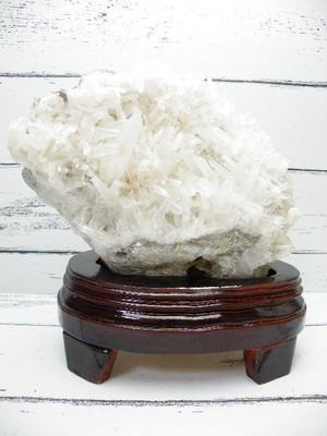 パワーストーンブレスレットの浄化にも◎《ビックサイズ 重量1.4キロのクリスタルクラスター》台座付きヒマラヤ水晶クラスター 約1.4kg |T604-2470