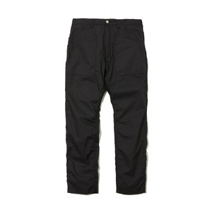 TRIPLE STITCHED 6 POCKET PANTS -BLACK