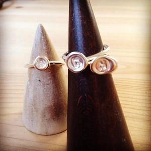 アルファベットリング ミニ 《シルバー》 Alphabet Silver Ring MINI
