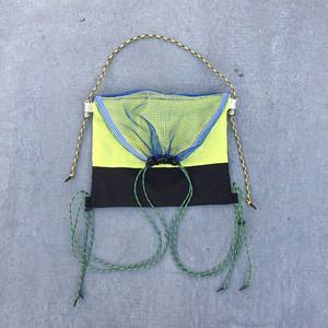 custom bag / blue × yellow × green