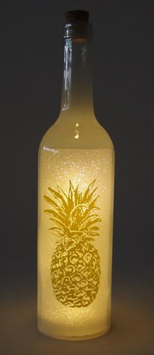ボトルドライト パイナップル  ホワイト