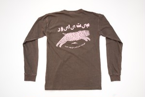 TEAM DREAM BICYCLING TEAM / Arabic Chubby Bobcat Heavyweight Long Sleeve