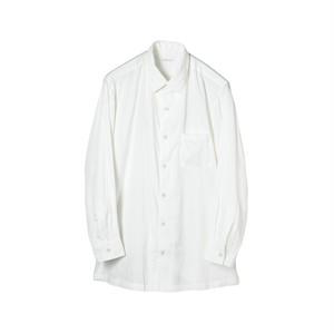 SOWBOW SHIRT -B    (REGULAR COLLER) WHITE