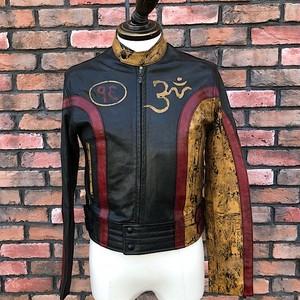 Deadstock Belstaff Free Tibet Leather Biker Jacket/ 42