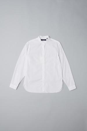 160/2 ブロード スタンドカラーシャツ