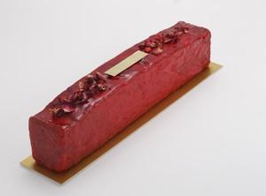 Cake fraise à la rose