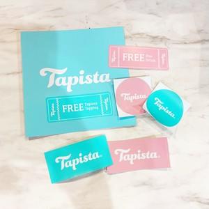 #Tapistaステッカーとドリンクフリーチケットセット