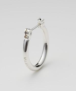 Logo Embosse Hoop Pierce ~Silver925~[Silver]