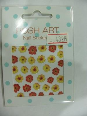 POSH ART ネイルステッカー F-004