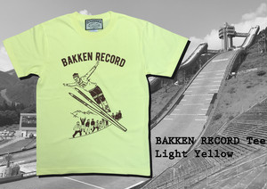 Bakkenn Record Tee / Light yellow
