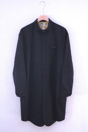 black wool shirts / ohta