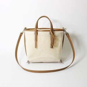 CECILY SMALL SHOULDER BOA / beige leather【MORROW】