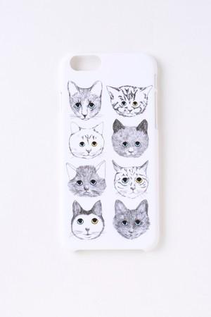 【iPhone8,iPhone7&iPhone6/6S対応】ネコそれぞれの人生iPhoneケース